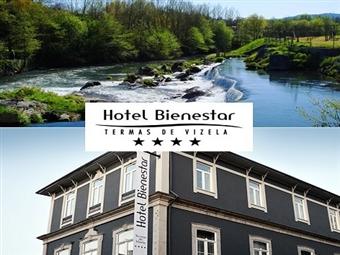 Fuga ZEN no Hotel Bienestar Termas de Vizela 4*! 1 ou 2 Noites com Meia Pensão & SPA Termal no Centro Histórico de Vizela desde 45€. Cuide de si!