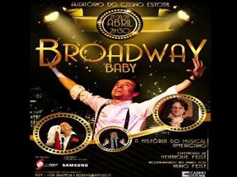 MUSICAL Broadway Baby com Henrique Feist, Acompanhado ao Piano pelo seu irmão Nuno Feist no Casino do Estoril por 8€.