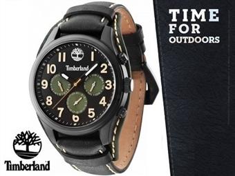 Relógio de Pulso TIMBERLAND Rollins Black por 87€. O presente ideal para o Homem que gosta da Natureza. PORTES INCLUÍDOS.
