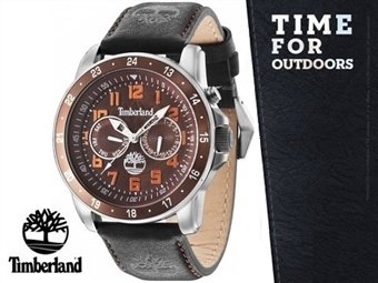 Relógio de Pulso TIMBERLAND Bellamy Black por 82€. O presente ideal para o Homem que gosta da Natureza. PORTES INCLUÍDOS.