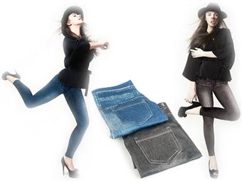 JEGGINGS: Fusão de Jeans com Leggings com 2 Cores e 4 Medidas à escolha por 15€. Esteja na Moda!
