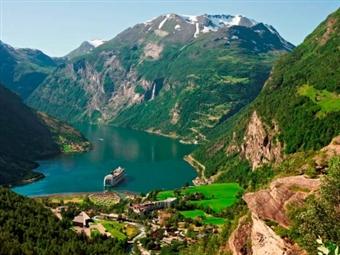 Circuito Noruega: 8 Dias de exotismo e natureza em estado puro. Voo de Lisboa e Porto com Hotel e Carro para percorrer paisagens de sonho por 1229€.