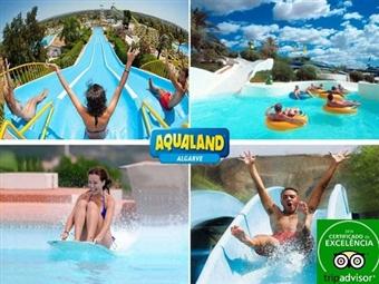 AQUALAND: Entrada para ADULTO, CRIANÇA ou SÉNIOR desde 16.15€ para um dia no Algarve cheio de Adrenalina.