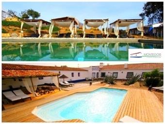 Monte Gois Country House & SPA: 1 ou 2 Noites em Almodôvar, num Monte Tipicamente Alentejano desde 24.90€. Renda-se à Mística e Relaxe!