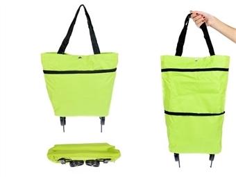Bolsa de Compras Dobrável com Rodas: Faça as suas Compras de uma Forma mais Fácil e Confortável por 16.90€. PORTES INCLUÍDOS.