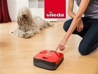 Robot Aspirador VR101 da VILEDA por 105€. Ajuda a manter a Casa Limpa todos os dias sem esforço. VER VIDEO. ENVIO: 48H. PORTES INCLUIDOS.