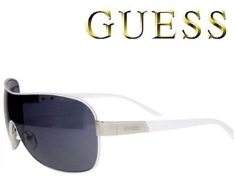 Óculos de Sol GUESS GUF112WHT com estojo da marca e proteção contra raios ultravioleta por 35€. ENVIO IMEDIATO e PORTES INCLUÍDOS.