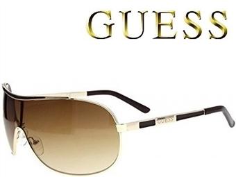 Óculos de Sol GUESS GUF110GLD com estojo da marca e proteção contra raios ultravioleta por 35€. ENVIO IMEDIATO e PORTES INCLUÍDOS.