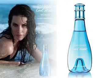 Eau de Toilette DAVIDOFF COOL WATER para Senhora de 100ml por 44€. Uma frescura sensual que reforça a beleza feminina. PORTES INCLUÍDOS.