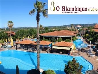 ALAMBIQUE DE OURO HOTEL RESORT & SPA 4*: Verão na Serra da Estrela até 7 Noites desde 44€. Sol, Natureza e Piscina para umas férias relaxantes.