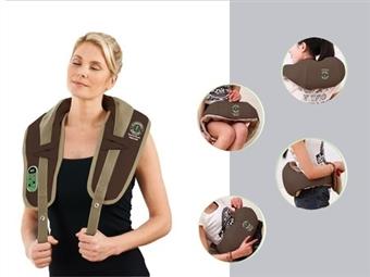 Massajador VIBRO-NECK: Melhora a Circulação Sanguínea e Relaxa os Músculos do Pescoço, Cervical, Pernas e Lombares por 46€. PORTES INCLUÍDOS.