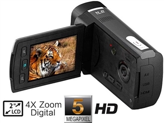 Câmara de Video Digítal HD 5MP com LCD TFT 2