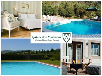 Quinta dos Machados Country House & SPA: 1 a 5 Noites a um passo da Ericeira, com SPA & Massagem desde 39.50€. Perfeito para uns dias de descanso.