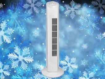 Coluna de Ar de 50W com 3 Velocidades e Opção de Oscilação por 35€. Refresque o Ar da sua Casa. PORTES INCLUÍDOS.