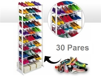 SUPER PREÇO: Sapateira para até 30 Pares de Sapatos. A solução ideal para sua casa. 1 por 12€ ou 2 por 19€. PORTES INCLUIDOS.