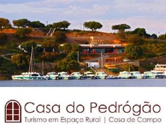 Casa de Pedrógão: 2 Noites junto à Barragem do ALQUEVA na Aldeia Ribeirinha de Pedrogão por 39.50€. Escapada rural num Retiro tipicamente Alentejano!