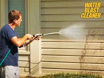 Pistola de Pressão de Água WATER BLAST CLEANER com Depósito de Sabão, Dispensador Regulável, Escova e uma Lavagem Perfeita por 18€. PORTES INCLUÍDOS.