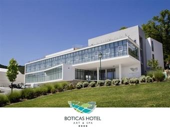 Boticas Hotel Art & Spa 4*: Estadia com Pequeno-Almoço, Welcome Drink, Jantar com Bebidas incluídas e acesso ao SPA desde 75€.