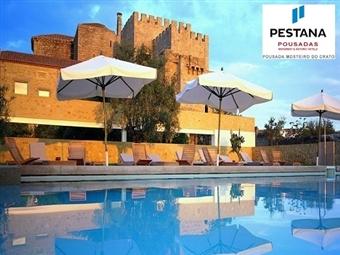 Pousada Mosteiro do Crato: 3 a 6 Noites com Pequeno almoço e acesso à piscina desde 178.50€. INCLUI AGOSTO.