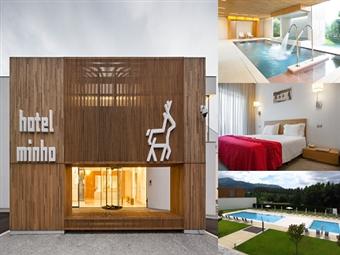 Hotel Minho 4* em Vila Nova de Cerveira: 4 Noites, Pequeno-almoço, Circuito Águas do SPA, Piscinas e muito mais por 200€. CRIANÇA GRÁTIS.