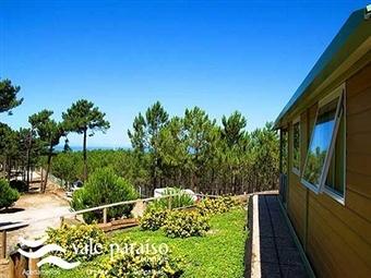 Vale Paraíso Natur Park na Nazaré: 1 ou 2 Noites em Chalet entre o Verde da Natureza e o Azul do Mar desde 25€. Relaxe em Família!