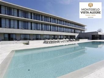 Montebelo Vista Alegre Ílhavo Hotel 5*: 3, 5 ou 7 Noites, CRIANÇA GRÁTIS, Pequeno-almoço, SPA, Piscina Exterior desde 375€. INCLUI AGOSTO!