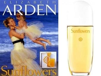 Eau de Toilette ELIZABETH ARDEN SUNFLOWERS para Senhora de 100ml por 18€. Uma fragrância suave e sensual. PORTES INCLUÍDOS.