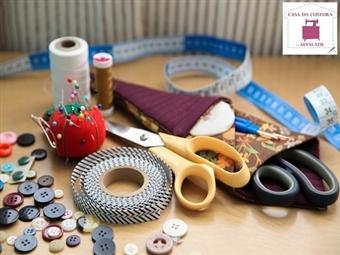 Workshop de CORTE E COSTURA em Lisboa por 24€ na Casa de Costura de Alvalade. Deixe-se Levar pelo mundo dos tecidos!