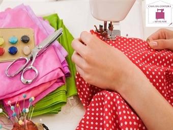 COSTURA CRIATIVA: Workshop de  1 ou 2 Aulas desde 9€ na Casa de Costura de Alvalade em Lisboa. Tira a sua Máquina de Costura de Casa e Inspire-se!