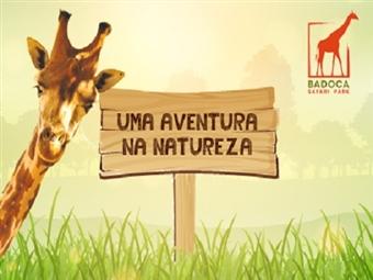 Badoca Safari Park & Hotel Vila Park: Estadia com Pequeno-Almoço e Entrada no Parque. Leve os miúdos ao campo desde 61.50€ e Divirta-se em Família.