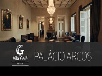 Vila Galé Collection Palácio dos Arcos 5*: Durma num Palácio com Tratamento VIP e Jantar desde 142.50€. Sinta-se como fazendo parte da Realeza.