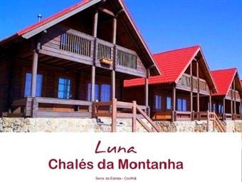 Luna Chalés de Montanha na Serra da Estrela: 1 a 5 Noites em Chalé com Pequeno-Almoço desde 95€ até 6 Pessoas. Descubra os Encantos da Serra.