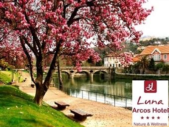 LUNA ARCOS HOTEL Nature & Wellness 4*: Aproveite o Verão no Gerês. Até 5 Noites com Jantar e Acesso a Wellness Club desde 60€. Pare. Respire e Relaxe