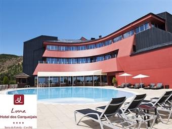 Luna Hotel dos Carqueijais 4*: Até 5 Noites na Serra da Estrela com Meia-Pensão desde 60€. Deslumbre-se com a vista deste hotel de charme.
