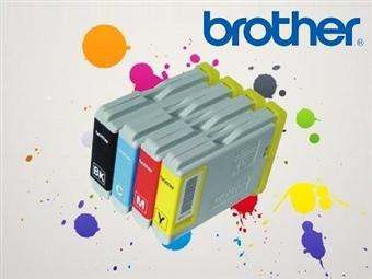 Conjunto de Tinteiros Compatíveis com Impressoras BROTHER desde 9.50€. PORTES INCLUÍDOS.