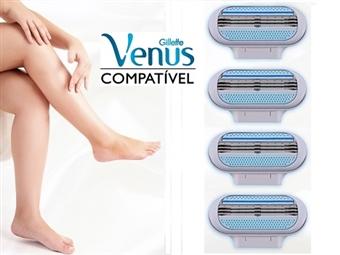 4 ou 8 Lâminas para Depilação Feminina Compatíveis com as Máquinas VÉNUS da GILLETTE desde 14.90€. Para uma pele lisa e hidratada. PORTES INCLUÍDOS.