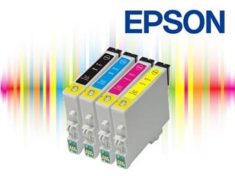 Conjunto de Tinteiros Compatíveis com Impressoras EPSON desde 10.90€. PORTES INCLUÍDOS.