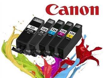 Conjunto de Tinteiros Compatíveis com Impressoras CANON desde 13.90€. PORTES INCLUÍDOS.