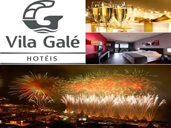 Especial Réveillon num HOTEL VILA GALÉ  4*: 2 Noites, Tratamento VIP, Cocktail, Festa de Réveillon, Jantar e Ceia desde 248€. Algarve ou Alentejo!