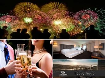 Réveillon no VILA GALÉ Douro 4* em Lamego: 2 Noites, Tratamento VIP, Cocktail, Festa de Réveillon, Jantar, Música ao vivo, Ceia e Brunch por 300€.