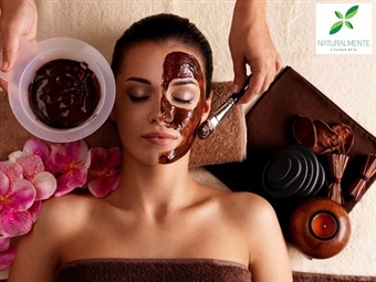 Tratamento de Rosto com MÁSCARA DE Chocolate, Caviar ou Anti-Manchas em Massamá por 15€. Um autêntico Spa Facial com um toque muito especial!