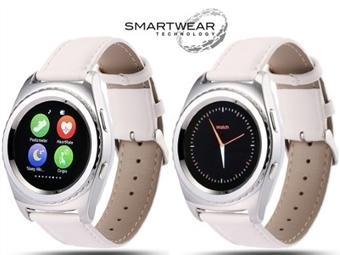Relógio Telemóvel Inteligente G4 Branco. SmartWear Technology with Style por 69€. ENVIO IMEDIATO e PORTES INCLUIDOS.