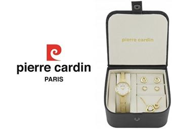 Conjunto Pierre Cardin Hearts of Love com Relógio, Colar e 2 Pares de Brincos por 49€. ENTREGA: 48H. PORTES INCLUÍDOS.