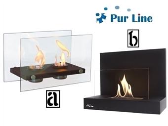 Biolareiras com 2 Modelos à Escolha desde 45€. Chamas reais e sensação de calor quase imediata sem fumo, cinzas ou cheiros. PORTES INCLUÍDOS.