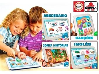 Tablet Didático: Primeiras Canções, Os Animais, Conta Histórias, Abecedário Português ou Aprendo Inglês desde 17.90€. ENVIO IMEDIATO e PORTES INCLUÍDOS.