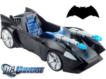Batmobile de Duplo Míssil de 30cm por 33€. Acelera e utiliza o arsenal duplo para derrotares os Super Vilões de todos os lados! PORTES INCLUÍDOS.
