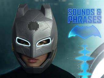 Mascara Muda de Voz do Batman por 54€. Equipa-te com a tua armadura e tonar-te no teu Super Heroi preferido da DC Comics. PORTES INCLUÍDOS.