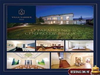 Villa Garden Braga 4*: 1 ou 2 Noites com opção Jantar. Visite a Cidade Milenar e relaxe num edifício do século XIX cheio de charme desde 29.50€.