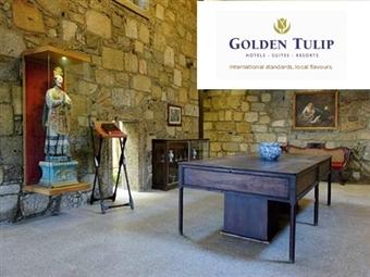 Golden Tulip Braga 4*: 1 ou 2 Noites com acesso ao SPA e Jantar desde 28€. Escapada perfeita, onde o glamour e elegância estão presentes.