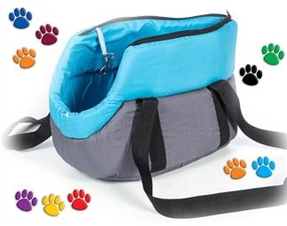 Transportadora em Tecido para Cães e Gatos por 20€. Inclui uma almofada que pode ser removida e lavada. PORTES INCLUIDOS.